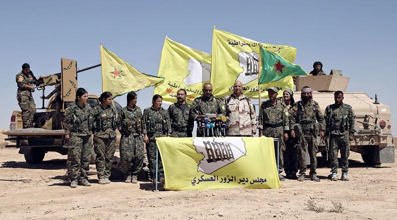Nguy cơ Mỹ - Syria đối đầu ở Deir el-Zour - ảnh 1