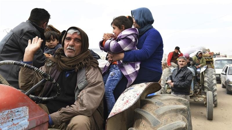 Dân Syria làm lá chắn sống ngăn quân Thổ Nhĩ Kỳ - ảnh 1