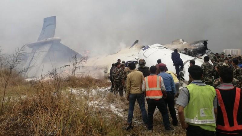 Máy bay hành khách chở 71 người rơi ở Nepal - ảnh 3
