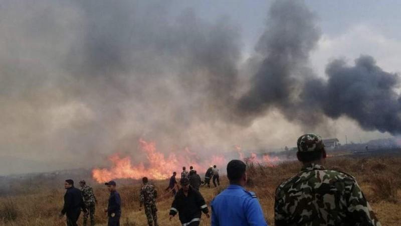 Máy bay hành khách chở 71 người rơi ở Nepal - ảnh 2