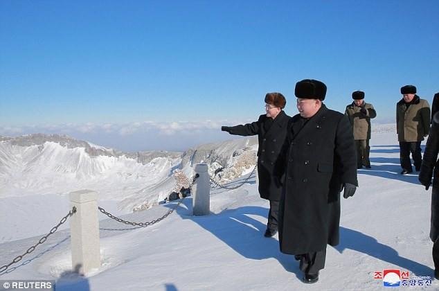 Ông Kim Jong-un có thể bước qua đường biên giới liên Triều - ảnh 1