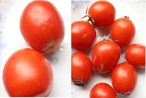 Dễ dàng nhận biết cà chua có hóa chất - ảnh 1