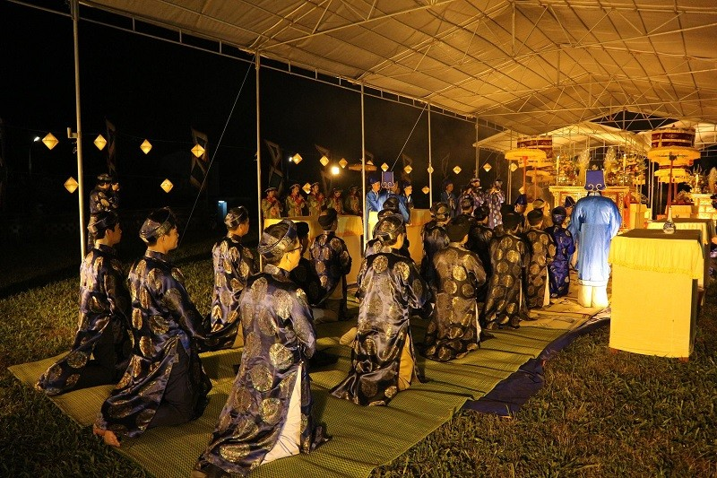 Trang trọng lễ tế đàn Xã Tắc tại cố đô Huế - ảnh 1
