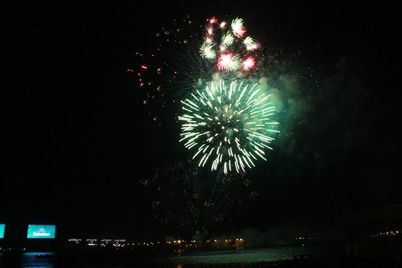 Lung linh pháo hoa chào năm mới Bính Thân - ảnh 4