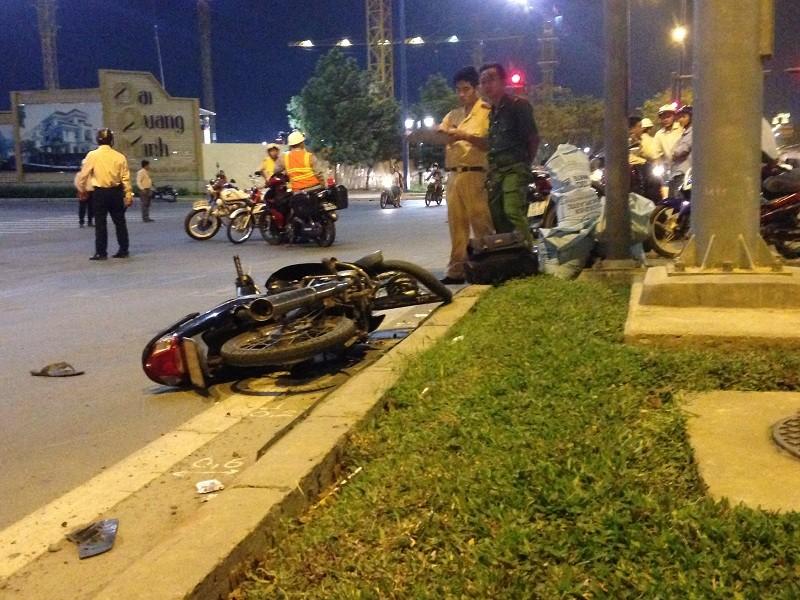 Người đàn ông chạy ngược chiều bị xe bồn tông tử vong - ảnh 3