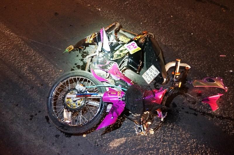 Hai thanh niên trọng thương khi tông trực diện xe thiếu nữ - ảnh 3