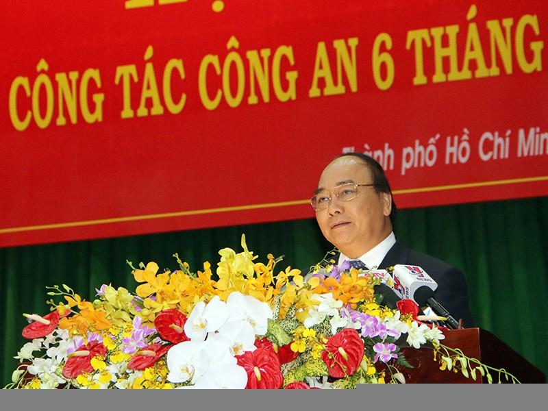 Thủ tướng yêu cầu ngành công an đánh mạnh vào tội phạm - ảnh 1