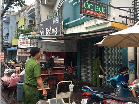Quán rang xay cà phê trên đường Hoàng Sa phát hỏa - ảnh 3