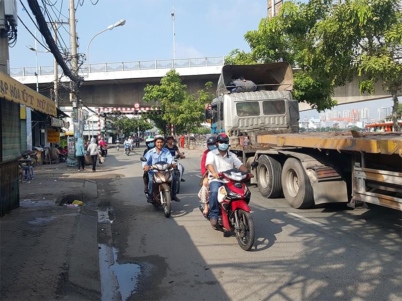 Hiện trường vụ án mạng khiến hai thanh niên bị đâm tử vong ở Sài Gòn