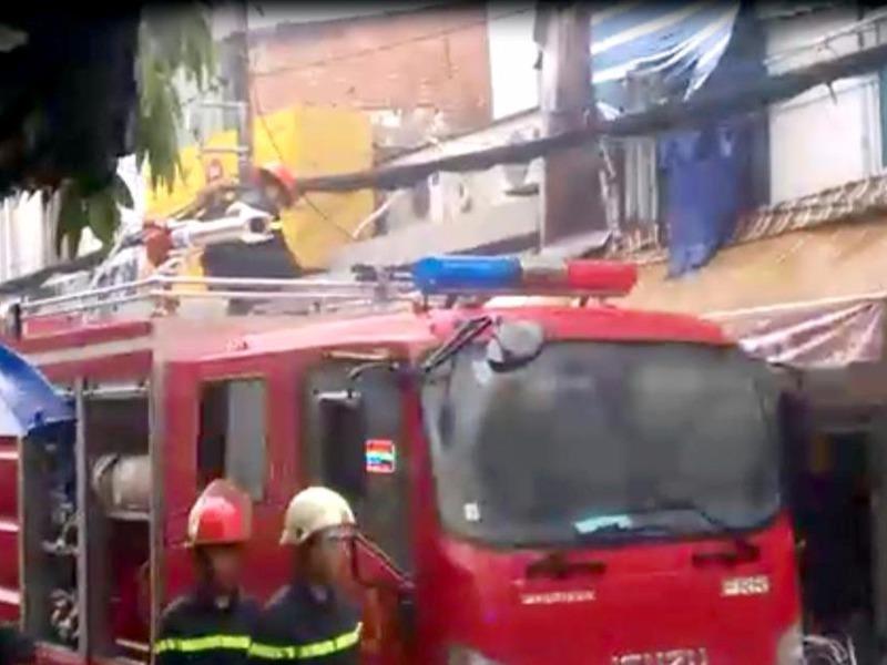 Đám cháy bùng phát tại một căn nhà