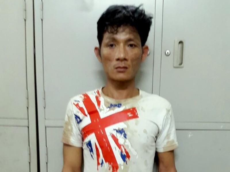 Trung đang bị công an truy nã vì đốt cha mẹ vợ