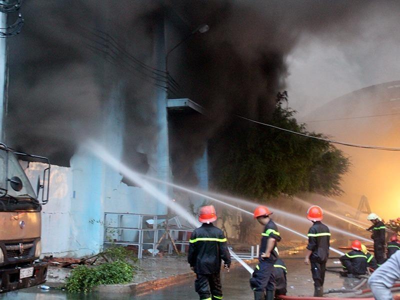 Trong thời gian qua, trên địa bàn TP còn xảy ra nhiều vụ cháy lớn, thiệt hại hàng chục tỉ đồng