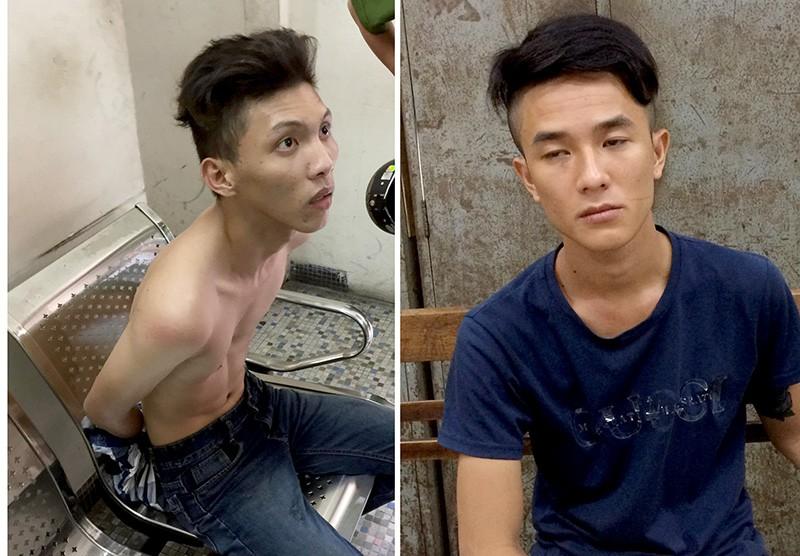 Lộc và Minh sau khi giật không được điện thoại của người phụ nữ thì bỏ chạy vào tuyến đường đang kẹt xe và bị bắt