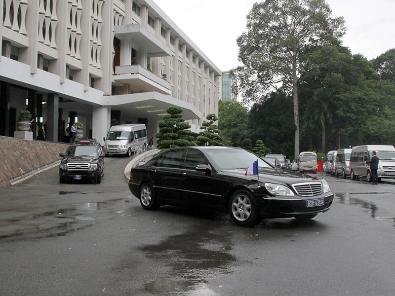 Tổng thống Pháp kết thúc 1 ngày thăm và làm việc tại TP.HCM - ảnh 21