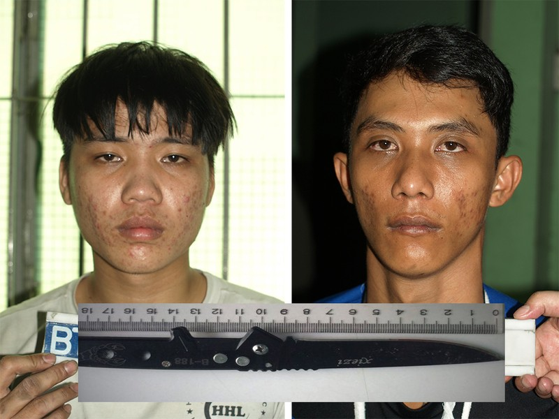 Hai nghi can đâm chết người trong bàn nhậu ở Sài Gòn