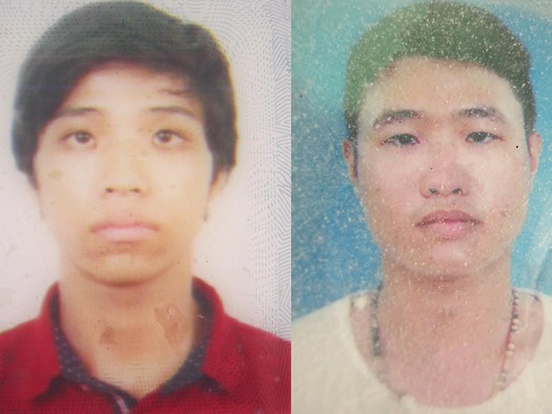 Hai tên cướp giật bị công an Bình Tân bắt giữ