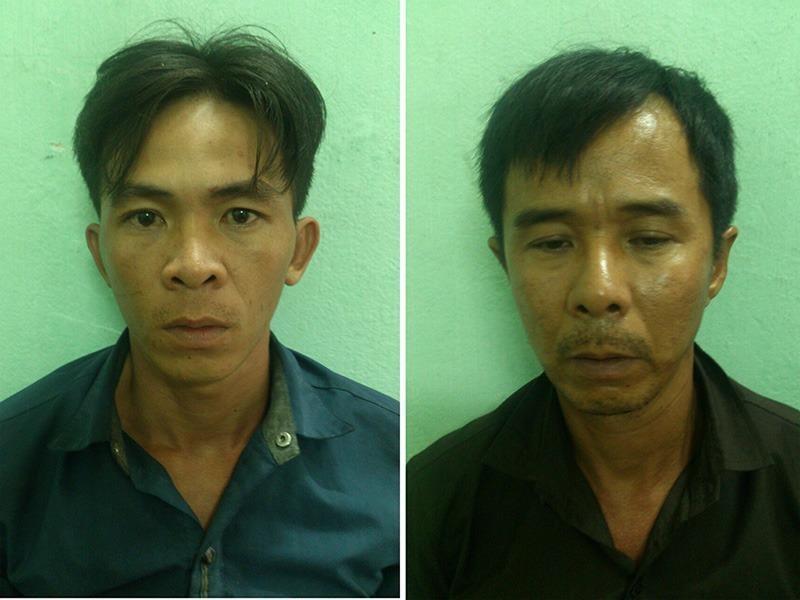 2 tên cướp giật giỏ xách du khách Hong Kong bị bắt - ảnh 1
