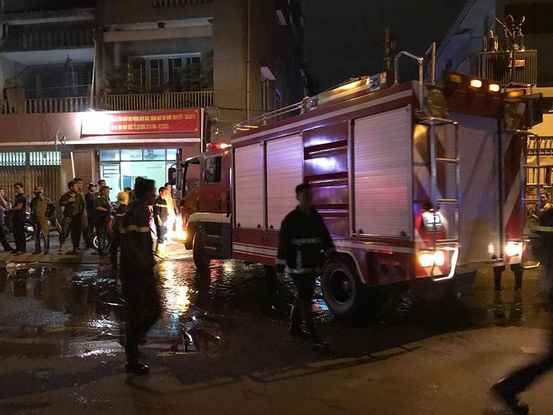 Cháy nổ ở khu Mả Lạng, 3 ngôi nhà bị thiêu - ảnh 3