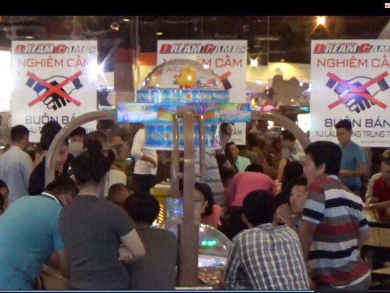 Ổ cờ bạc tinh vi trong trung tâm thương mại Aeon Mall - ảnh 1