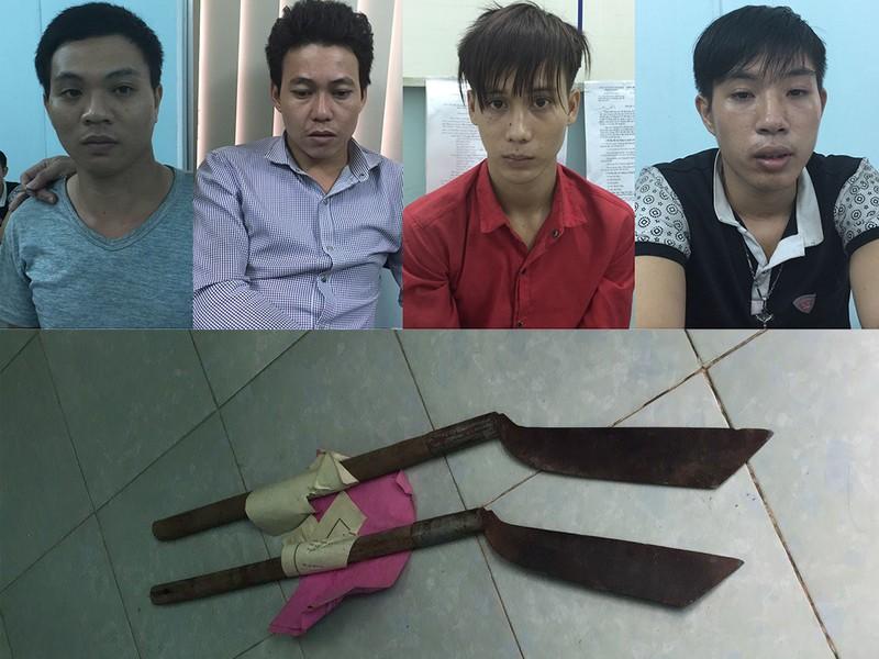 Truy sát ở quán ốc vùng ven, 2 thanh niên bị chém chết - ảnh 1