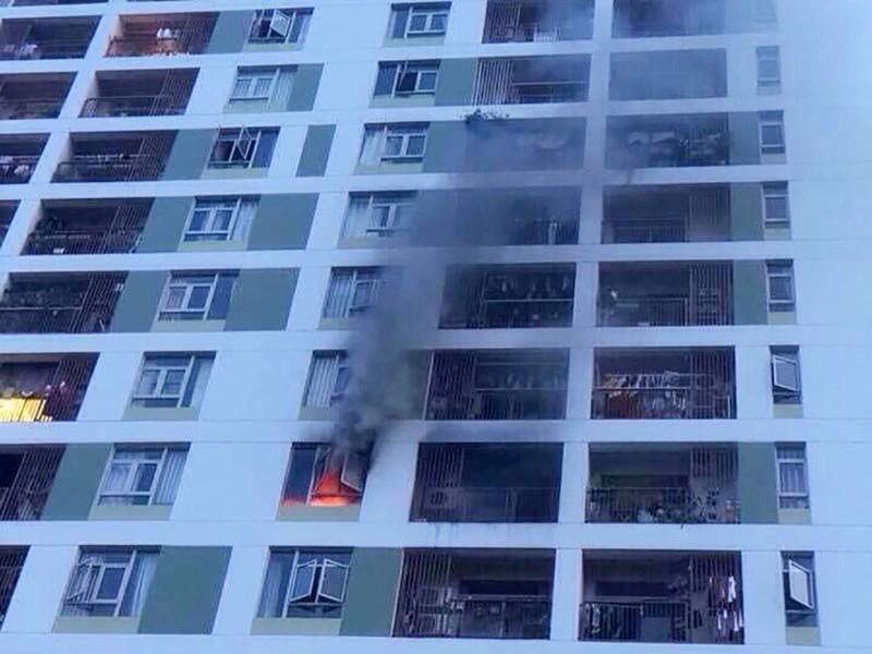 Cháy chung cư PARCSpring do cắm sạc dự phòng nhiều ngày - ảnh 2