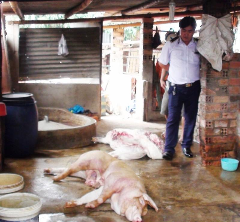 Phát hiện lò mổ heo bệnh bán cho các chợ ở Bình Dương, Đồng Nai - ảnh 1