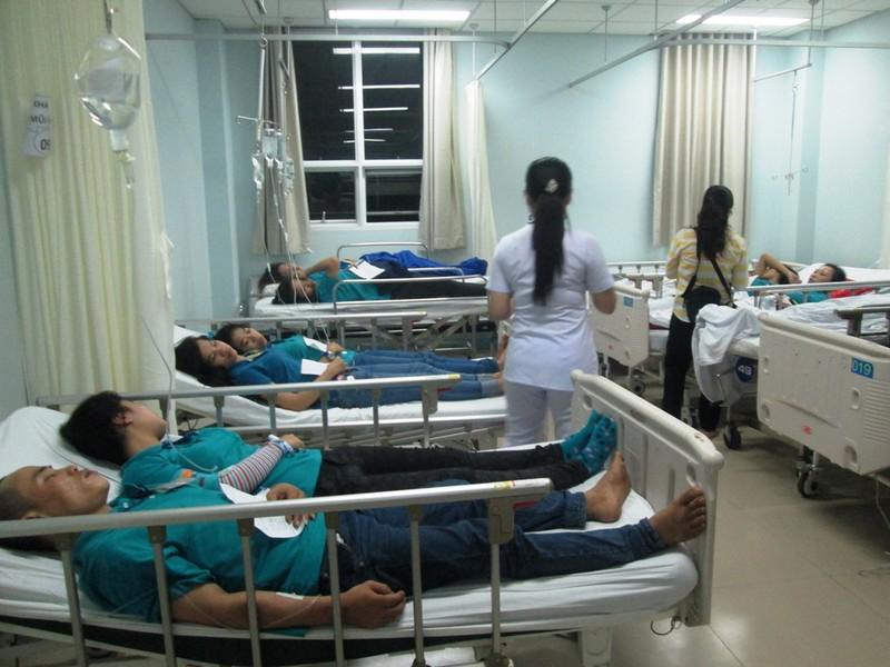 Kết luận nguyên nhân vụ gần trăm công nhân bị ngộ độc thức ăn - ảnh 1