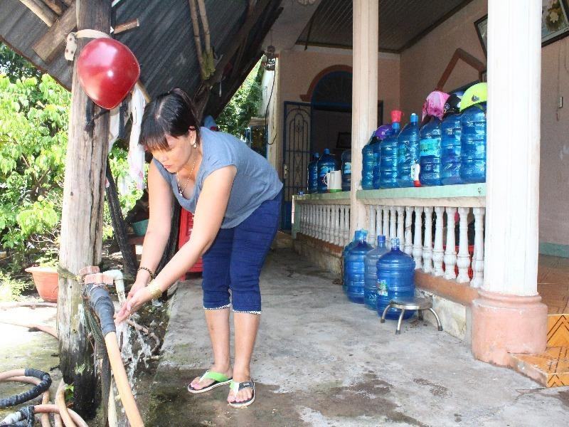 Người dân sống xung quanh phân khu KCN Formosa phản ánh nguồn nước ngầm bị ô nhiễm