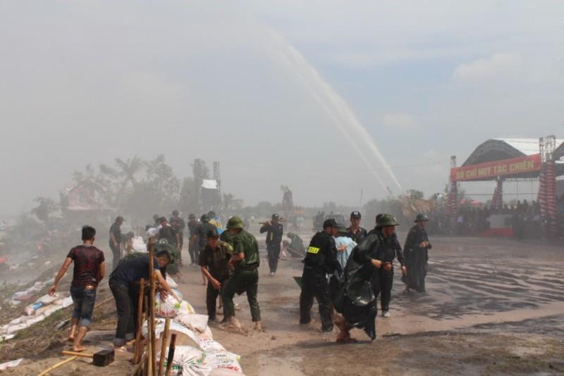 Cuộc diễn tập khủng với hơn 2.000 cảnh sát tham gia - ảnh 1