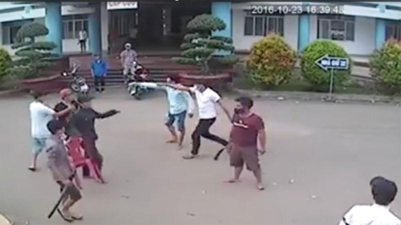 Bắt giam 10 nghi can trong vụ hỗn chiến ở bệnh viện - ảnh 1