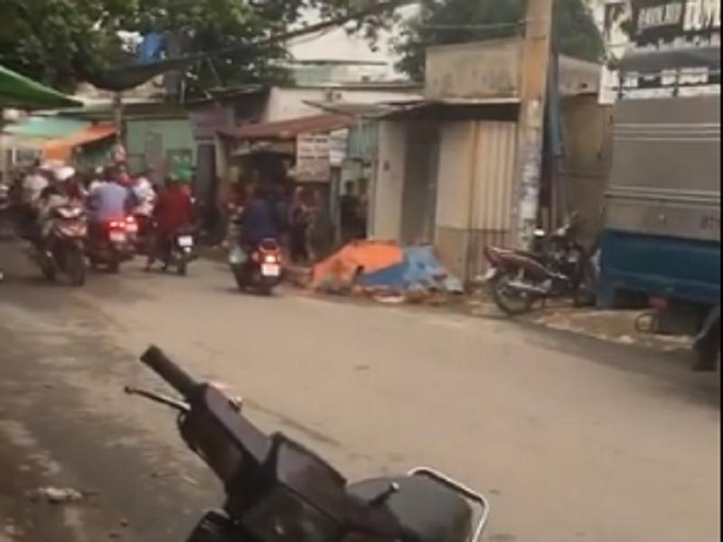 20 người mang hung khí từ TP.HCM xuống Biên Hòa đòi nợ - ảnh 1