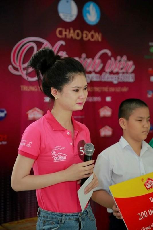 Ba bí mật chưa bật mí về 'Nữ sinh viên Việt Nam duyên dáng 2015' - ảnh 3
