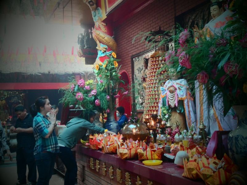 Độc đáo chùa Quan Âm có lịch sử gần 300 năm   - ảnh 1