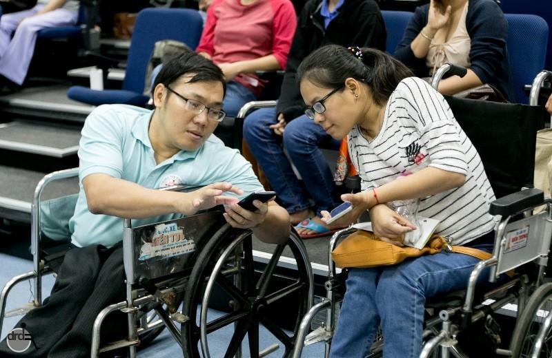 Tấm bản đồ số đem lại niềm vui cho người khuyết tật - ảnh 2