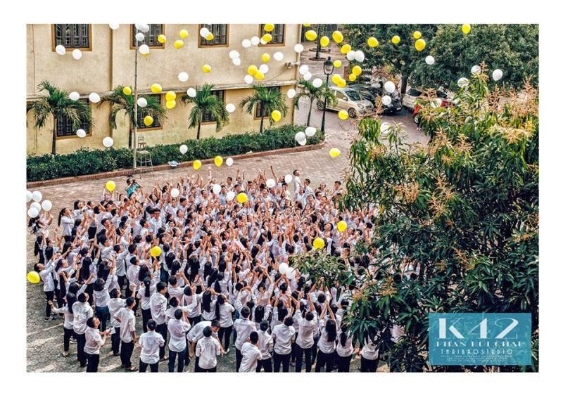 Bộ ảnh kỷ yếu cực chất của học sinh Trường Phan Bội Châu - ảnh 6