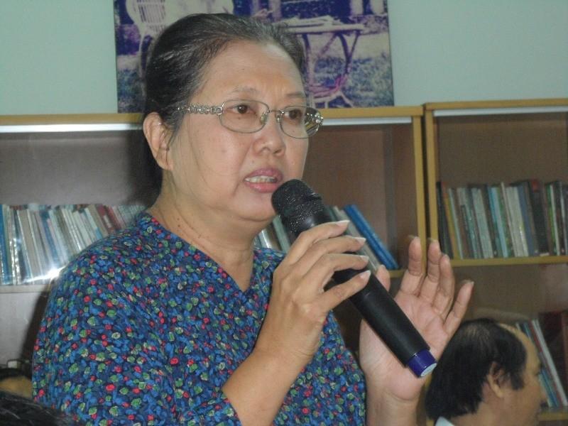 Nhà văn Lê Văn Thảo vắng mặt trong buổi tọa đàm văn học về mình - ảnh 1