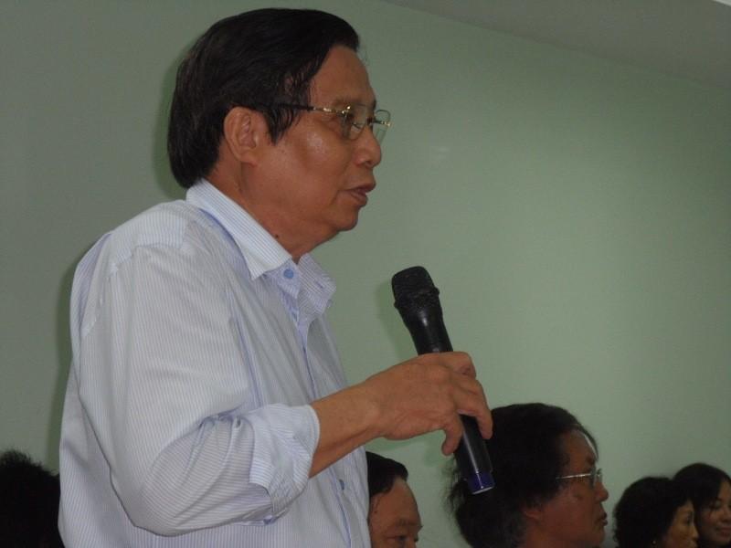 Nhà văn Lê Văn Thảo vắng mặt trong buổi tọa đàm văn học về mình - ảnh 5