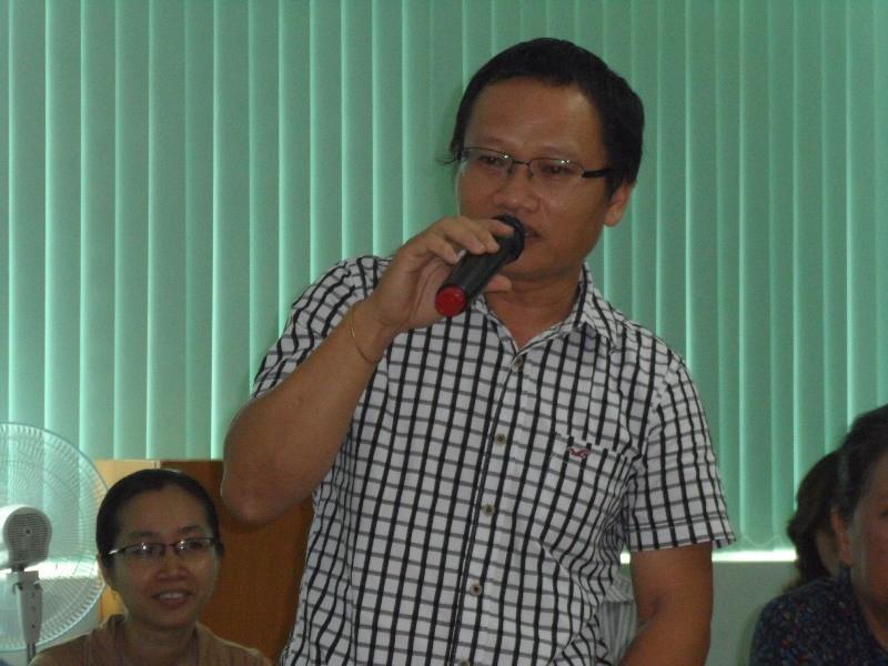 Nhà văn Lê Văn Thảo vắng mặt trong buổi tọa đàm văn học về mình - ảnh 4