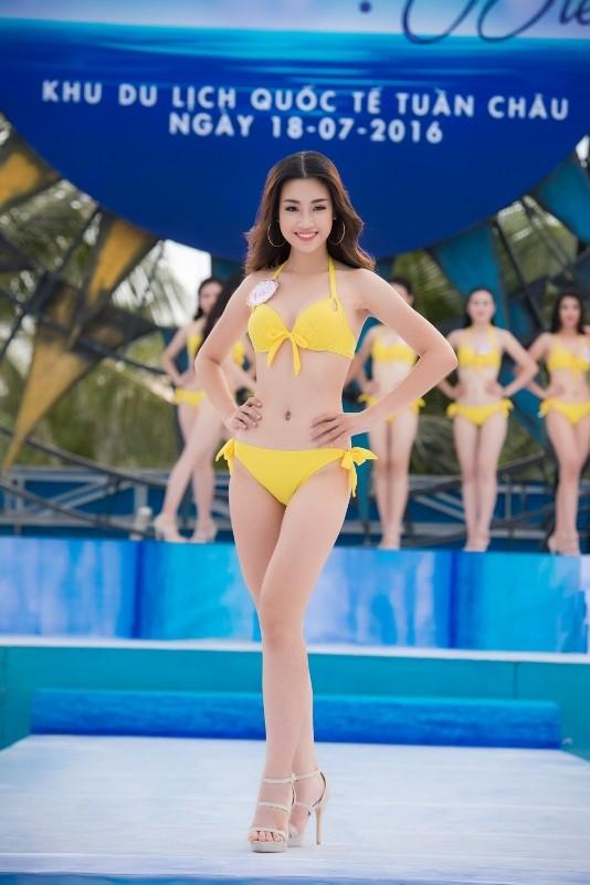 Điểm danh top 5 diện bikini nóng bỏng nhất Hoa hậu Việt Nam 2016 - ảnh 2