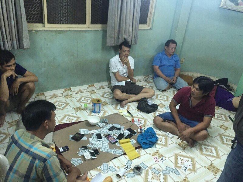 'Thu lưới' tóm gọn băng nhóm đánh bạc - ảnh 1