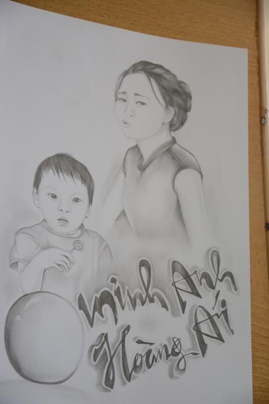 Trại giam Đắk Trung, những người còn ở lại - kỳ 1: 'Tôi không dám vẽ mẹ' - ảnh 3