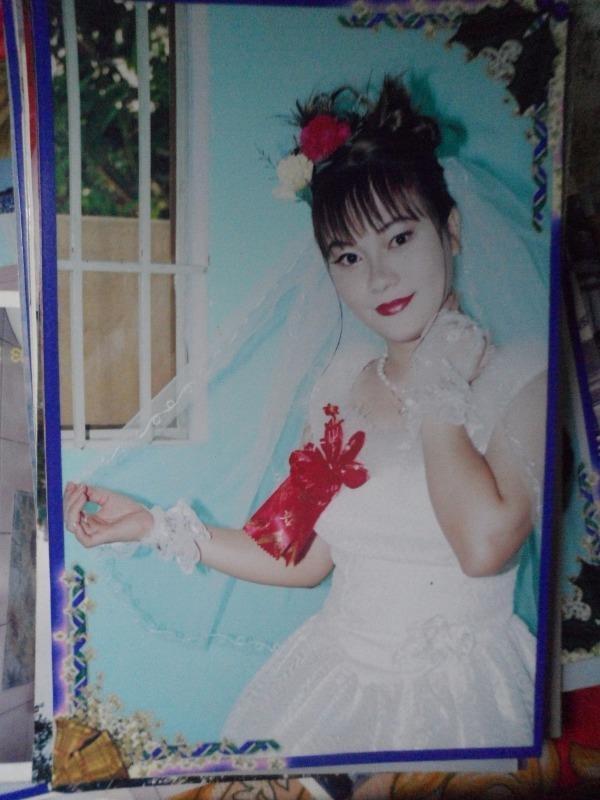 Huỳnh Thị Thanh rạng rỡ trong ảnh cưới