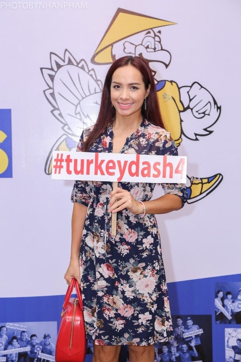Hoa hậu Hương Giang rạng rỡ đồng hành cùng Turkey Dash  - ảnh 6