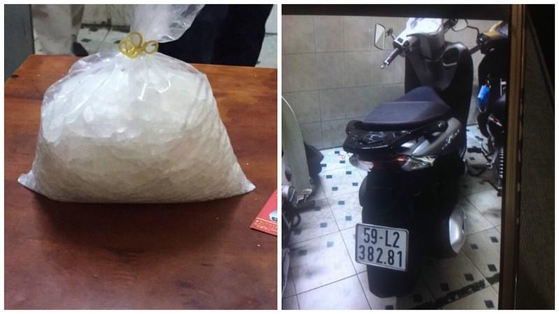 Ôm nửa kg ma túy bất ngờ đụng độ đặc nhiệm hình sự - ảnh 2