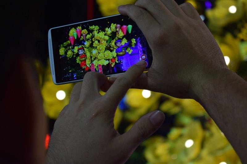Dân nô nức về đường hoa Nguyễn Huệ ngay đêm khai mạc - ảnh 7