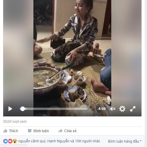Cô gái xứ Nghệ chối uống rượu bằng hát ví dặm cực ngọt - ảnh 1