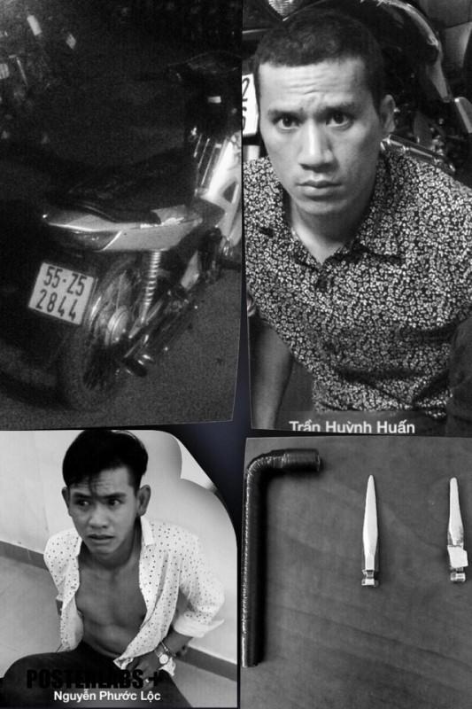 Đặc nhiệm cải trang 'câu' bắt 2 thanh niên trộm xe - ảnh 1