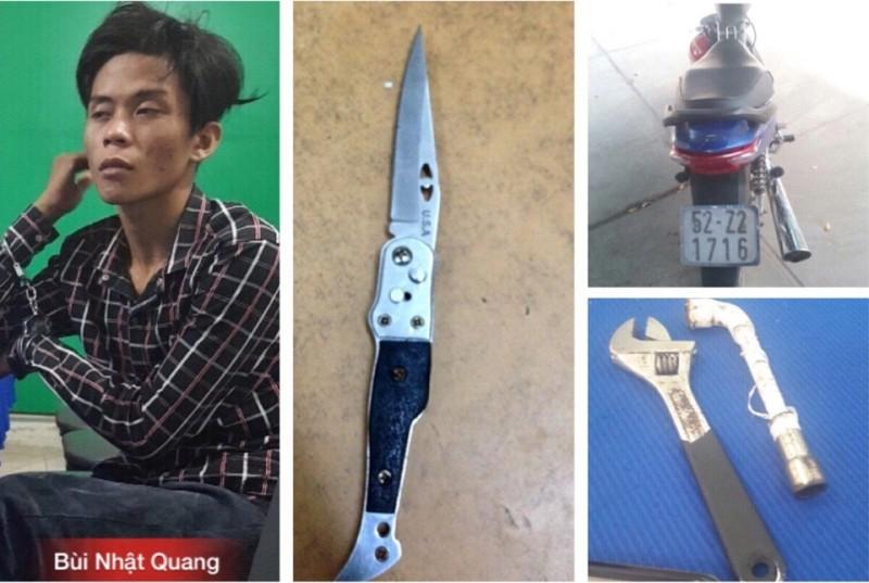 Đạp đầu xe, dùng dao đâm liên tiếp trinh sát đặc nhiệm - ảnh 1
