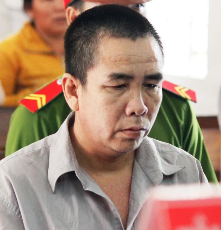 Bị cáo Phan Đạt Phương tại phiên tòa
