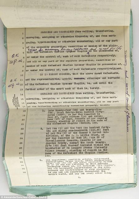 Những giấy tờ này được ước tính có giá 15.000 bảng (484 triệu đồng).